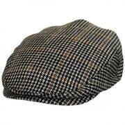 Hooligan Houndstooth Tweed Wool Blend Ivy Cap