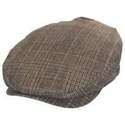 Barrel Windowpane Plaid Wool Blend Ivy Cap