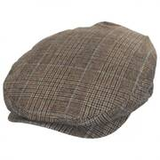 Barrel Windowpane Plaid Wool Blend Ivy Cap