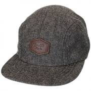 Trig Herringbone 2-Panel Strapback Baseball Cap Dad Hat