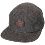 Trig Herringbone 2-Panel Strapback Baseball Cap Dad Hat