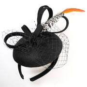 Feather Ultrafelt Fascinator Headband