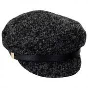 Fuzzy Wool Blend Fisherman's Cap