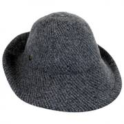 Boiled Wool Floppy Hat