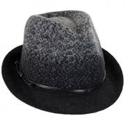Boiled Wool Fedora Hat