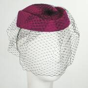 Veil Pillbox Hat