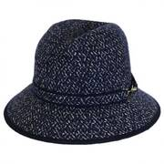 Hudson Knit Braid Fedora Hat