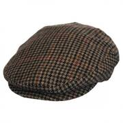 Lord Houndstooth Tweed Wool Blend Ivy Cap