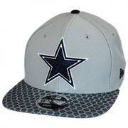 Dallas Cowboys NFL Sideline 9FIFTY Snapback Baseball Cap