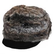 Faux Fur Cadet Cap