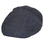 Koser Striped Cotton Ivy Cap