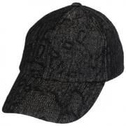 Leff Herrringbone Strapback Baseball Cap Dad Hat