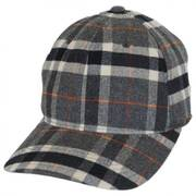 Plaid FlexFit Baseball Cap