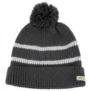 Auroras Lights Pom Knit Beanie Hat