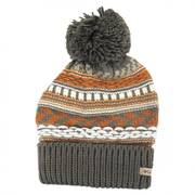 Stay Frosty Pom Knit Beanie Hat