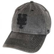 New York Mets MLB Caliper Clean Up Strapback Baseball Cap Dad Hat