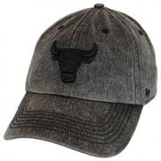 Chicago Bulls NBA Caliper Clean Up Strapback Baseball Cap Dad Hat