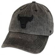 Chicago Bulls NBA Caliper Clean Up Strapback Baseball Cap Dad Hat