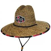Yellin' Melon Straw Lifeguard Hat