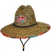 Tropicana Straw Lifeguard Hat