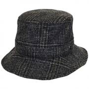 Lincolnshire Check English Tweed Wool Bucket Hat