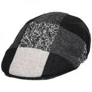 Patchwork Wool Ascot Cap