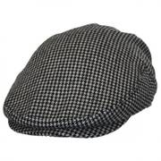 Houndstooth Wool Ivy Cap