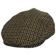 Hooligan Houndstooth Tweed Wool Blend Ivy Cap