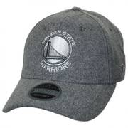 Golden State Warriors NBA 'Cashmere' 9Twenty Strapback Baseball Cap