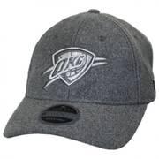 Oklahoma City Thunder NBA 'Cashmere' 9Twenty Strapback Baseball Cap
