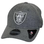 Oakland Raiders NFL 'Cashmere' 9Twenty Strapback Baseball Cap Dad Hat