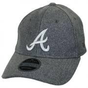 Atlanta Braves MLB 'Cashmere' 9Twenty Strapback Baseball Cap