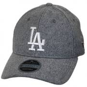 Los Angeles Dodgers MLB 'Cashmere' 9Twenty Strapback Baseball Cap Dad Hat