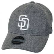 San Diego Padres MLB 'Cashmere' 9Twenty Strapback Baseball Cap Dad Hat