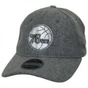 Philadelphia 76ers NBA 'Cashmere' 9Twenty Strapback Baseball Cap Dad Hat