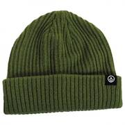 Fisherman Rib Knit Beanie Hat