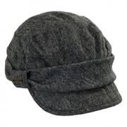 Oria Wool Blend Newsy Cap