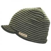 Northern Peak Knit Visor Beanie Hat