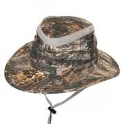 No Fly Zone Camo Sun Shield Safari Fedora Hat