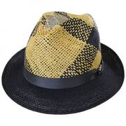 Trishul Toyo and Hemp Straw Fedora Hat