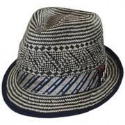 Degree Toyo Straw Trilby Fedora Hat