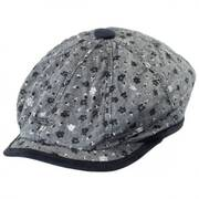 Alegria Cotton Newsboy Cap