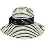 Jasmine Toyo Straw Sun Hat