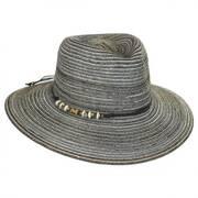 Phoenix Straw Fedora Hat