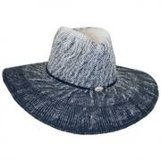 Sandy Beaches Toyo Straw Fedora Hat