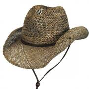 Seagrass Straw Chincord Western Hat