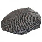 Hooligan Houndstooth Plaid Wool Blend Ivy Cap