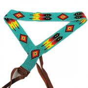 Feathers Beaded Hat Band