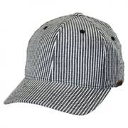 Flexfit Seersucker Fitted Baseball Cap