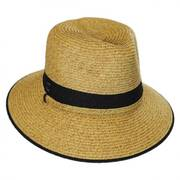 Nantucket Toyo Straw Fedora Hat